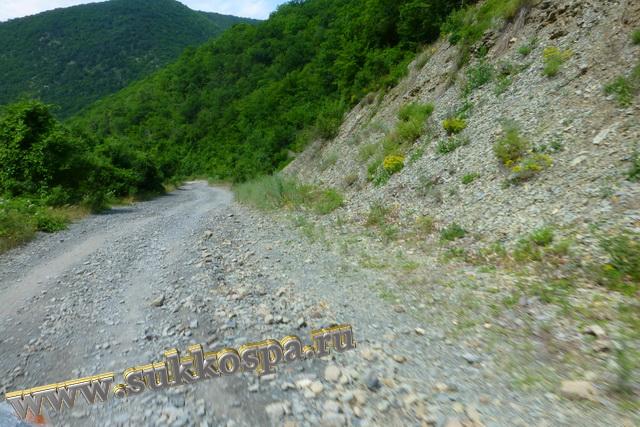 Горная дорога к Малому Утришу