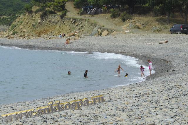 Малый Утриш пляж